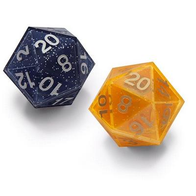 Critical Hit Solar-Lunar D20 Dice