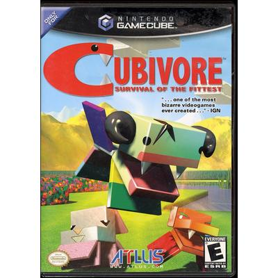 Cubivore: Survival of the Fittest