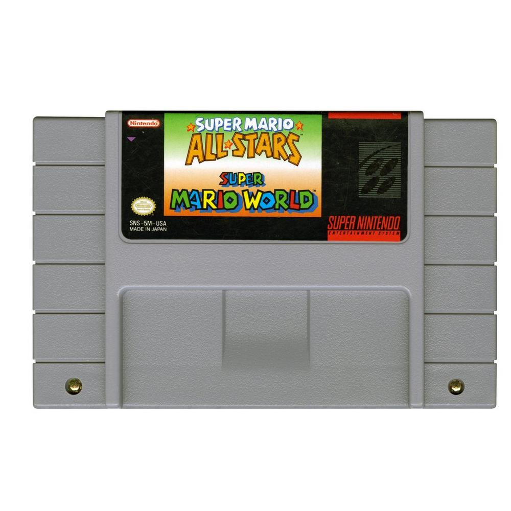Super Mario All-Stars and Super Mario World | Super Nintendo | GameStop