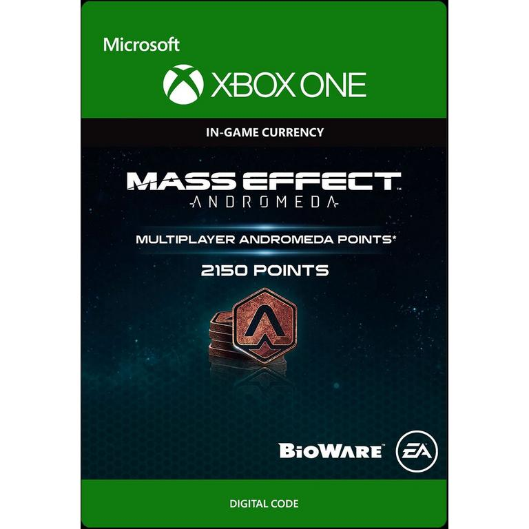 Mass Effect Andromeda - 2150 Andromeda Points