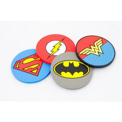 DC Justice League Super Hero Coaster Set