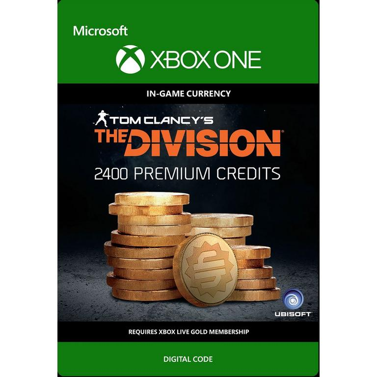 Tom Clancy's The Division: Currency pack - 2400 Premium Credits