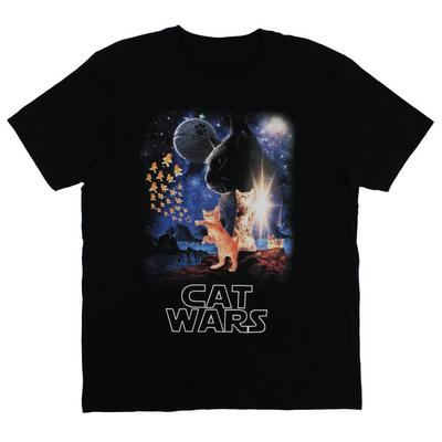 Cat Wars Mens T-Shirt