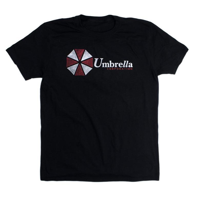 Resident Evil Umbrella Corp Black T-Shirt