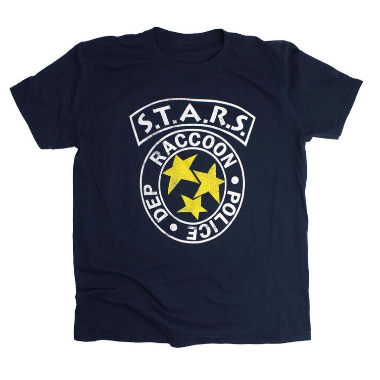 Resident Evil S.T.A.R.S. Logo Blue T-Shirt