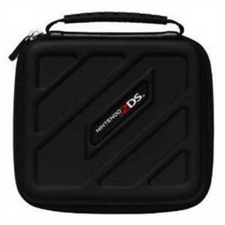 Black Deluxe Game Traveler Case for Nintendo 2DS and 3DS