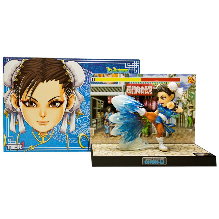 Street Fighter Chun Li Diorama Statue Gamestop