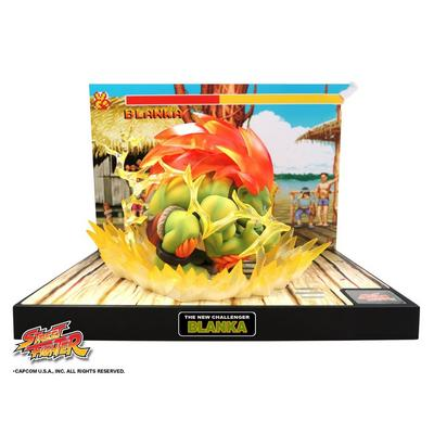 Street Fighter Blanka Diorama Figure