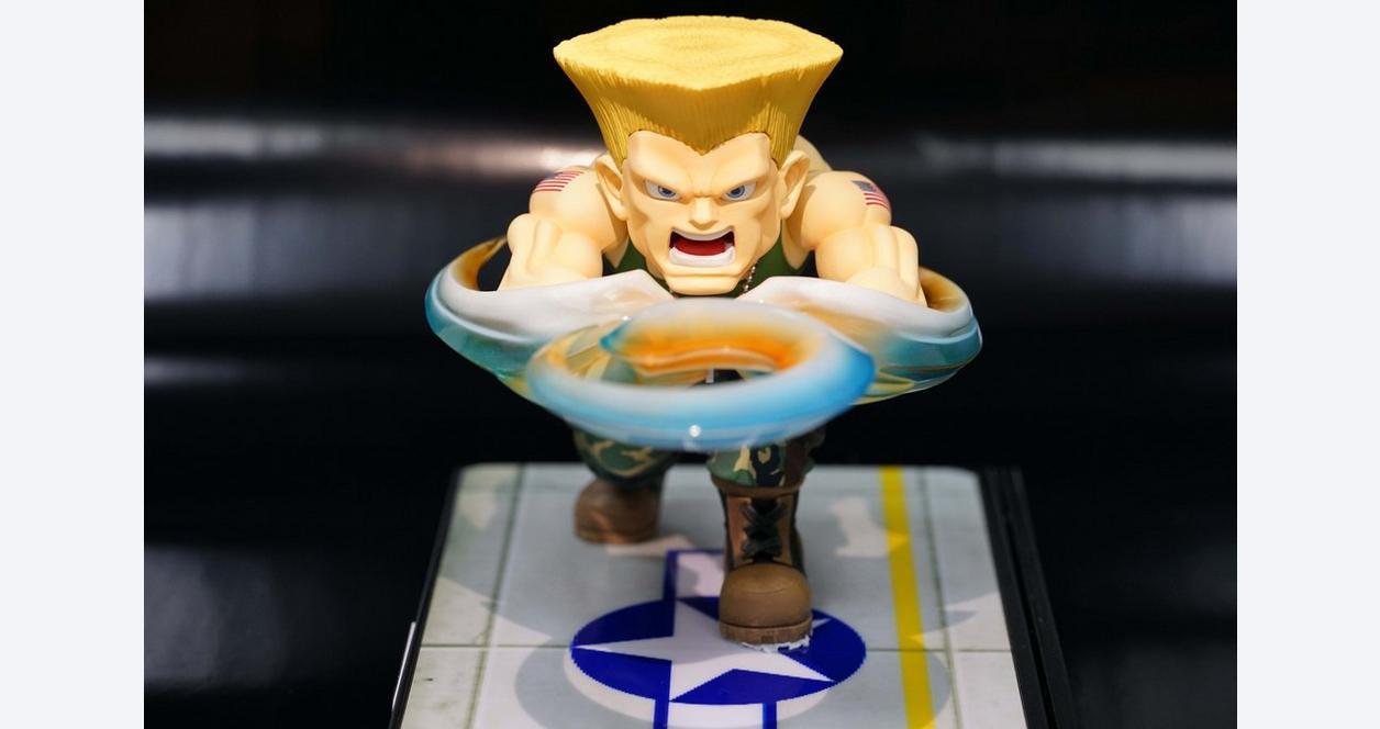 Street Fighter Guile Diorama