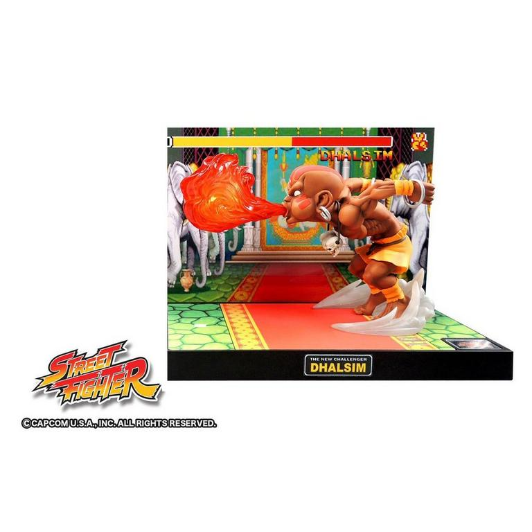 Street Fighter Dhalsim Diorama Figure