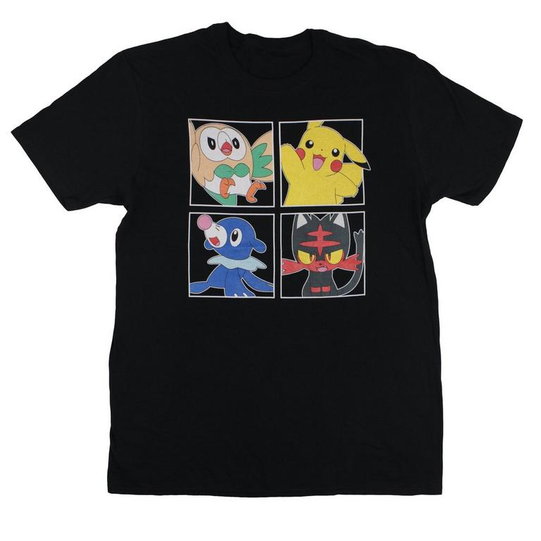 Pokemon New Starters 3 Box T-Shirt