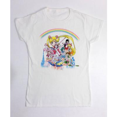 Pretty Guardians Sailor Moon Ladies T-Shirt