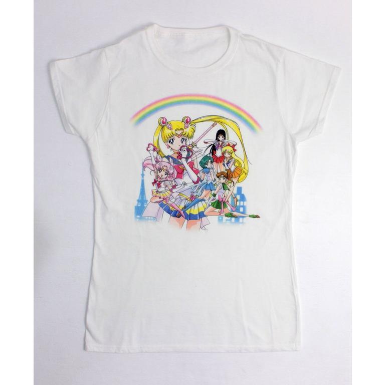 Sailor Moon Guardians Ladies T-Shirt