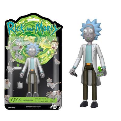 Action Figure: Rick & Morty - Rick 5 inch Figure