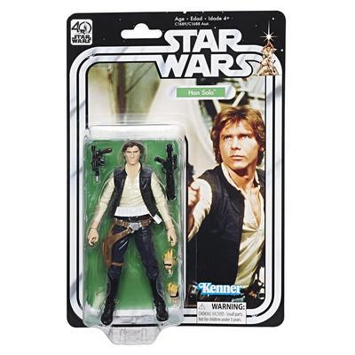 Star Wars The Black Series: 40th Anniversary Han Solo