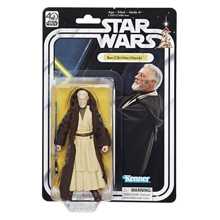 Star Wars The Black Series: 40th Anniversary Ben (Obi Wan) Kenobi