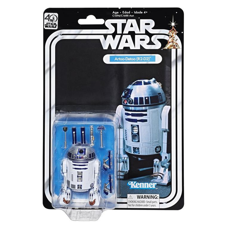 Star Wars 40th Anniversary Artoo-Detoo (R2-D2) The Black Series Action Figure