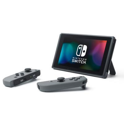 Nintendo Switch Console with Grey Joy-Con (GameStop Premium Refurbished)