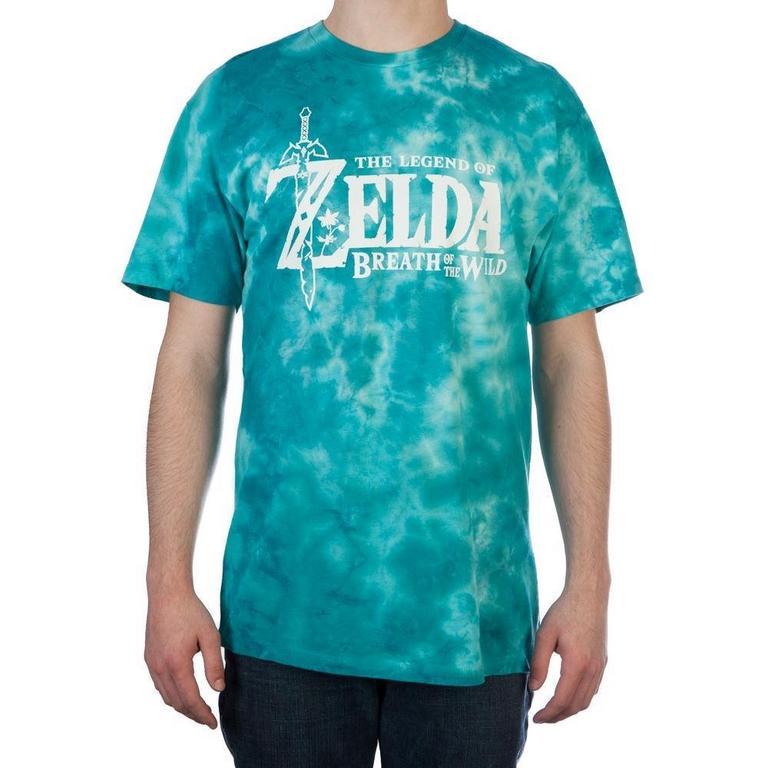 The Legend Of Zelda: Breath Of The Wilde Tye-Dye T-Shirt