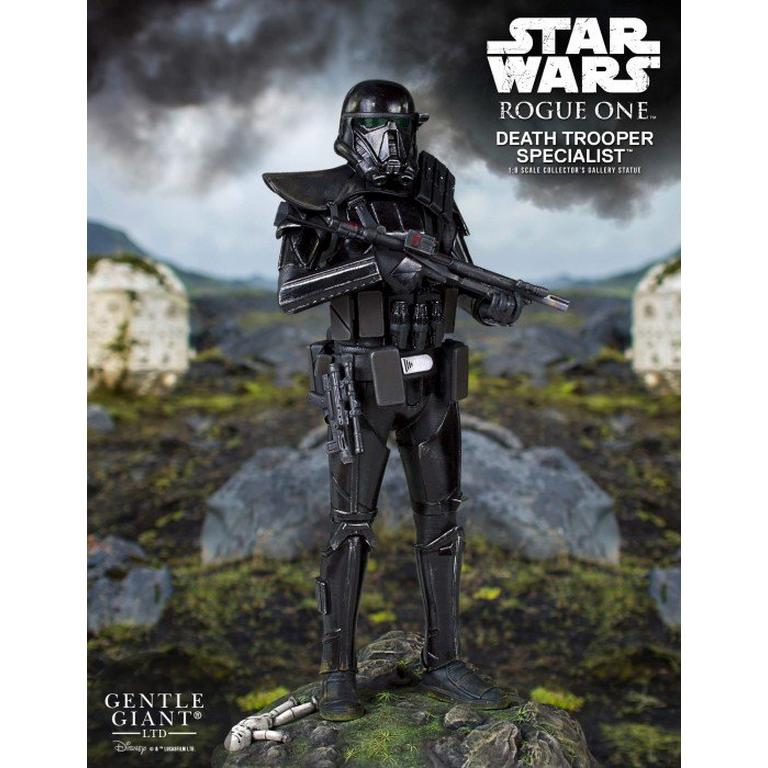 Star Wars Rogue One Death Trooper Specialist Collector's Gallery Statue
