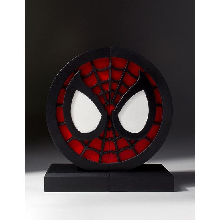 Marvel Spider-Man Logo Bookends