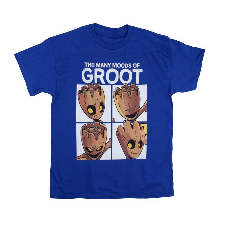Guardians of the Galaxy Groot Moods T-Shirt