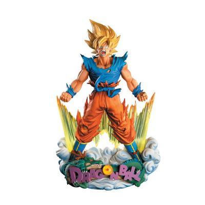 Dragon Ball Z Super Saiyan Son Goku Super Master Stars Piece Statue