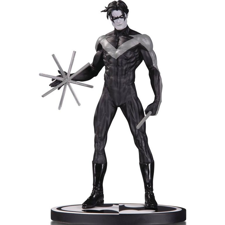 Batman Black and White Nightwing Statue by Jim Lee