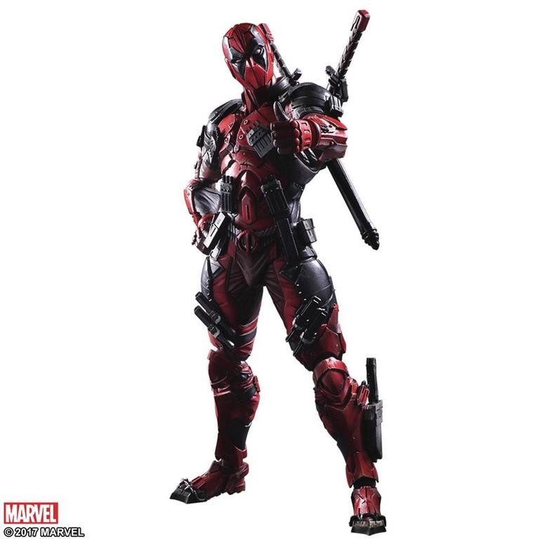 Marvel Universe Variant Play Arts Kai Deadpool Figure