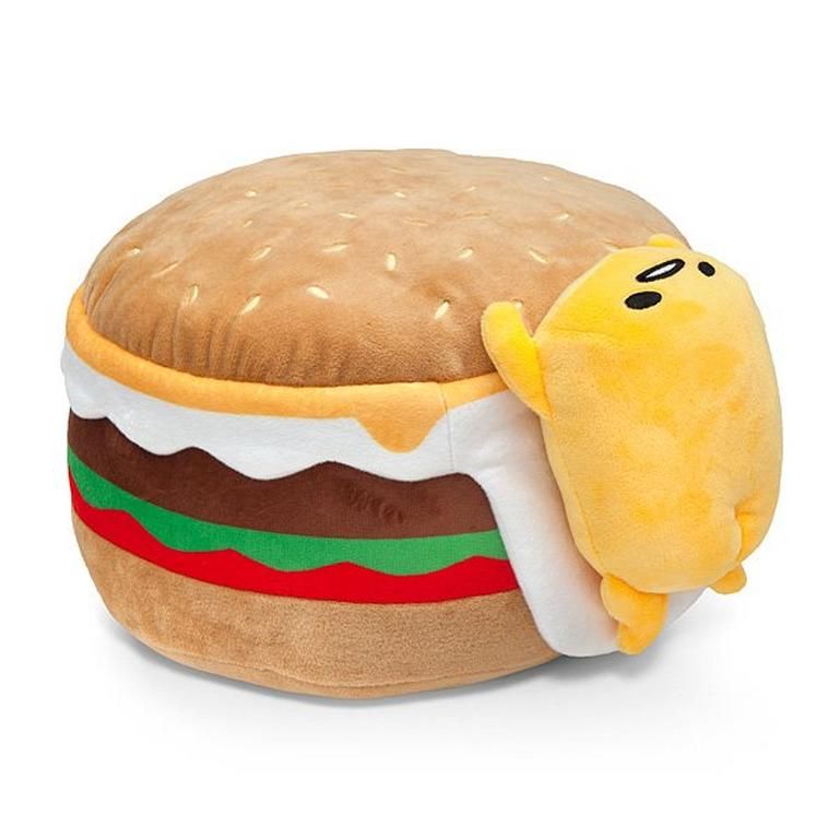 Gudetama Hamburger 12in Plush