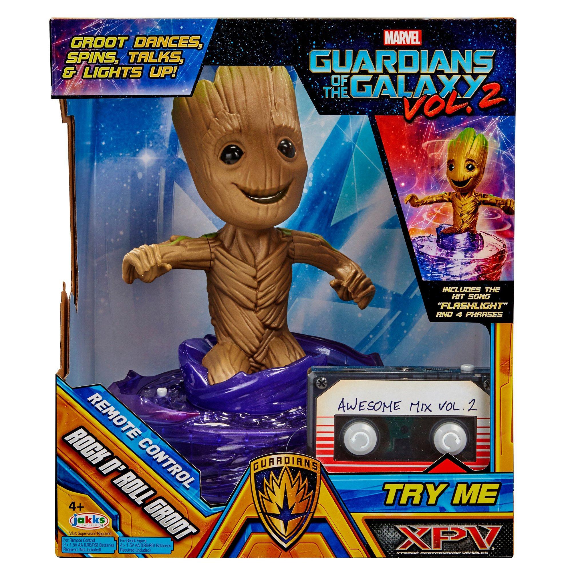 Guardians Of The Galaxy 2 Rock n Roll Groot Hasbro