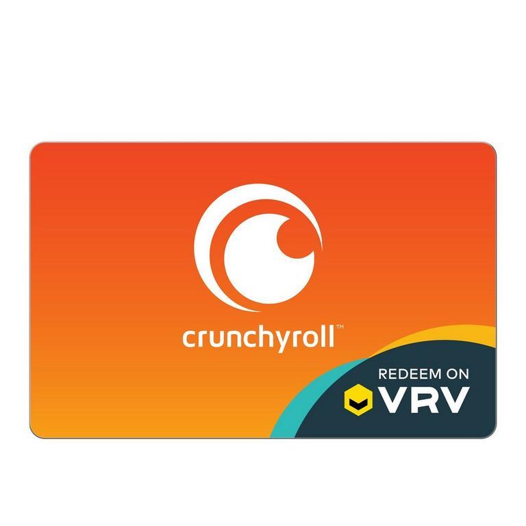 InComm Digital Crunchyroll on VRV $25 Gift Card Download Now At GameStop.com!