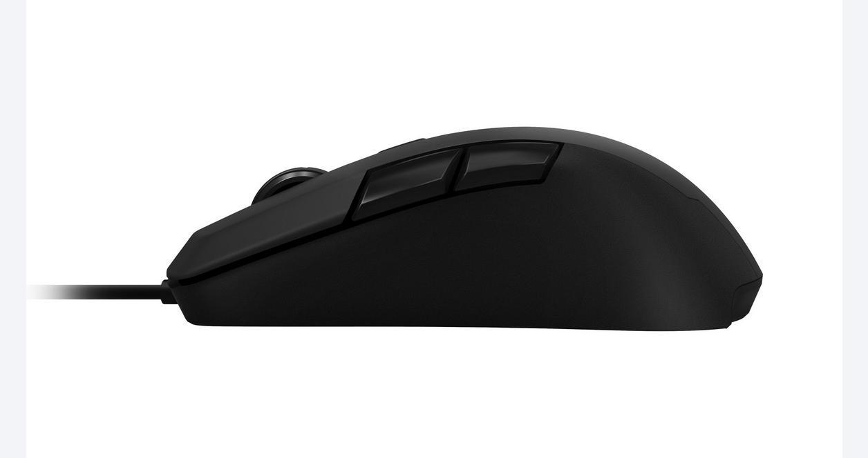 Kiro Modular Ambidextrous Gaming Mouse - Black