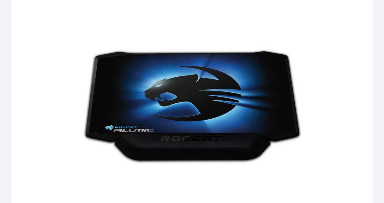 Alumic Double-Sided Black Gaming Mouse Mat