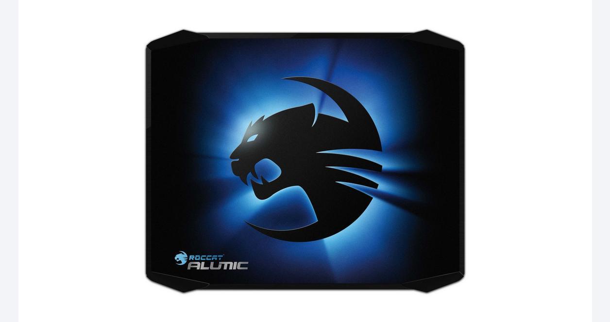 Alumic Double-Sided Gaming Mousepad - Black
