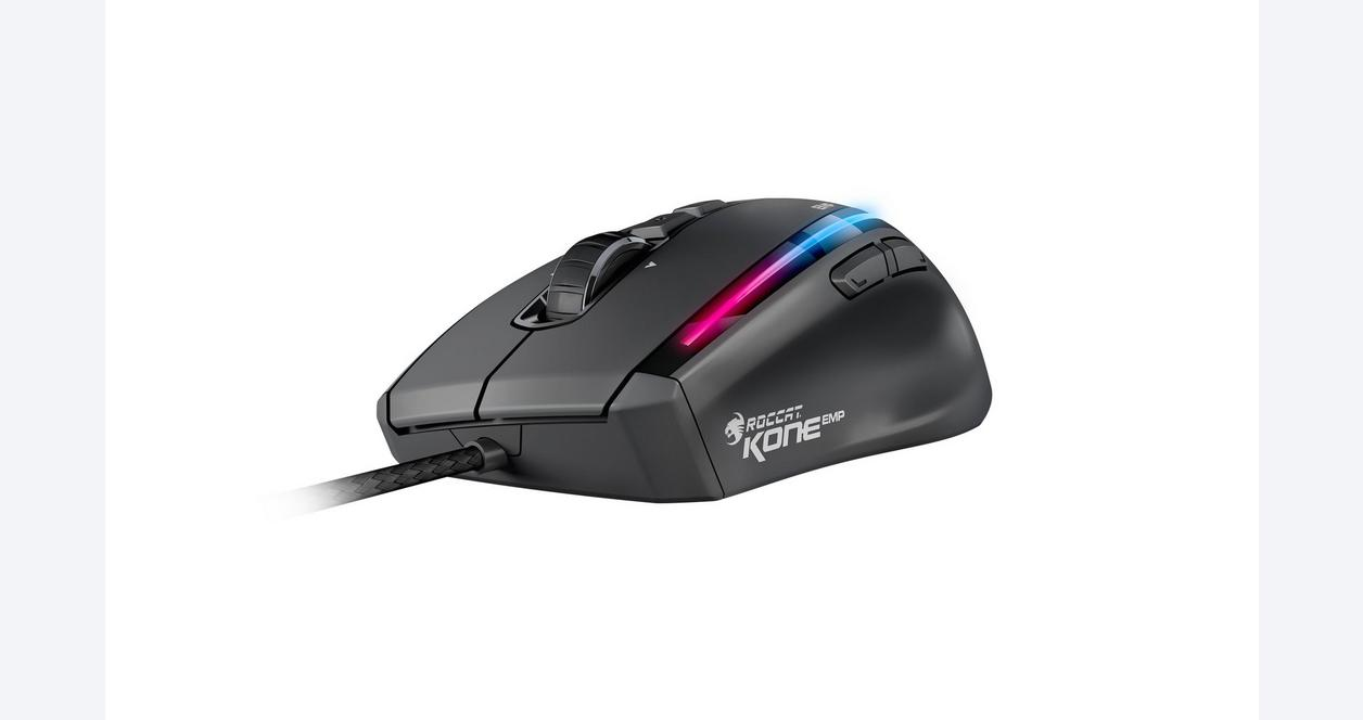 Kone Emp Black Max Performance RGB Wired Gaming Mouse