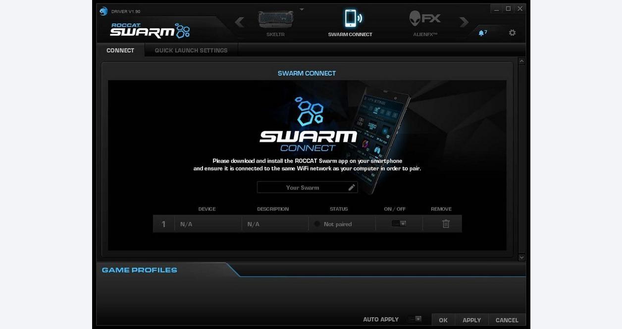 Skeltr Smart Communication RGB Gaming Keyboard - Black