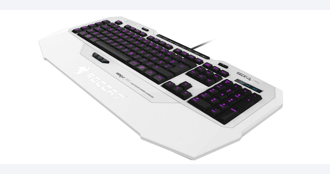 Isku FX Multi-Color Gaming Keyboard - Black