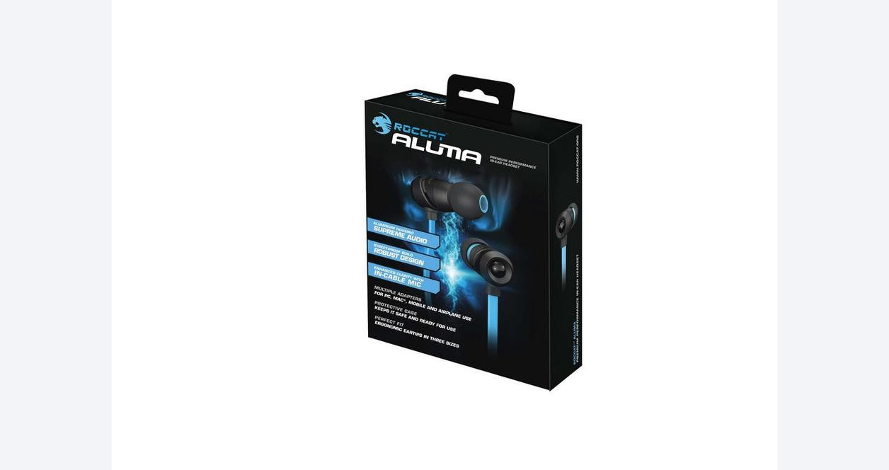 Aluma Premium Performance In-Ear Headset - Black