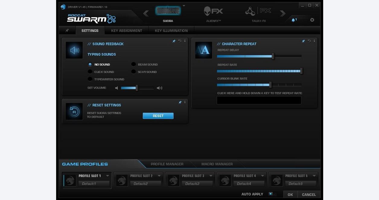 Suora Frameless Mechanical Gaming Keyboard - Black | <%Console%>
