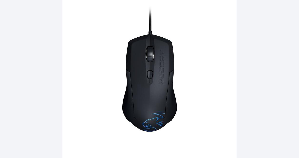 Lua Tri-Button Gaming Mouse - Black