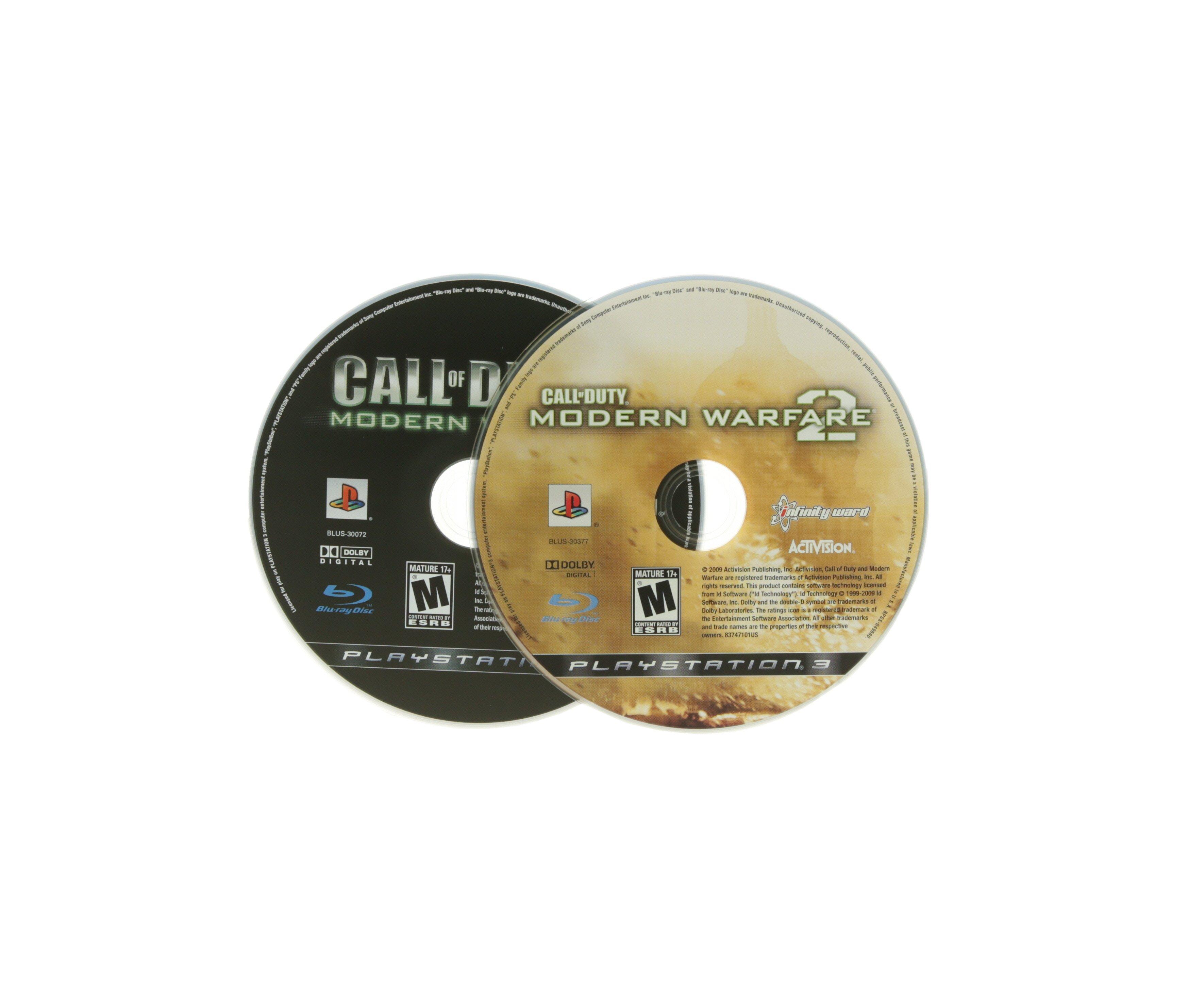 Call Of Duty 4 Modern Warfare And Call Of Duty Modern Warfare 2