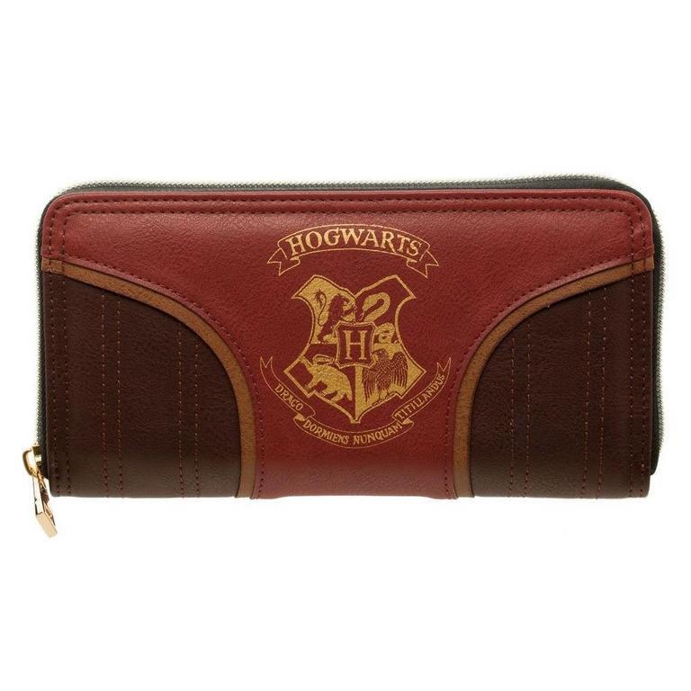 Harry Potter Hogwarts Crest Juniors Zip Wallet