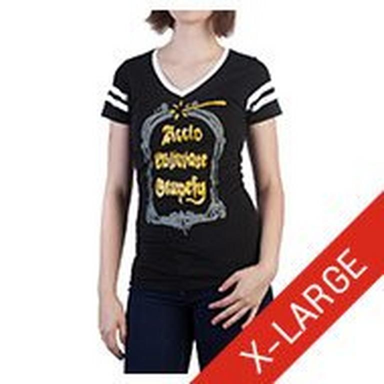 Harry Potter Spells V-Neck T-Shirt