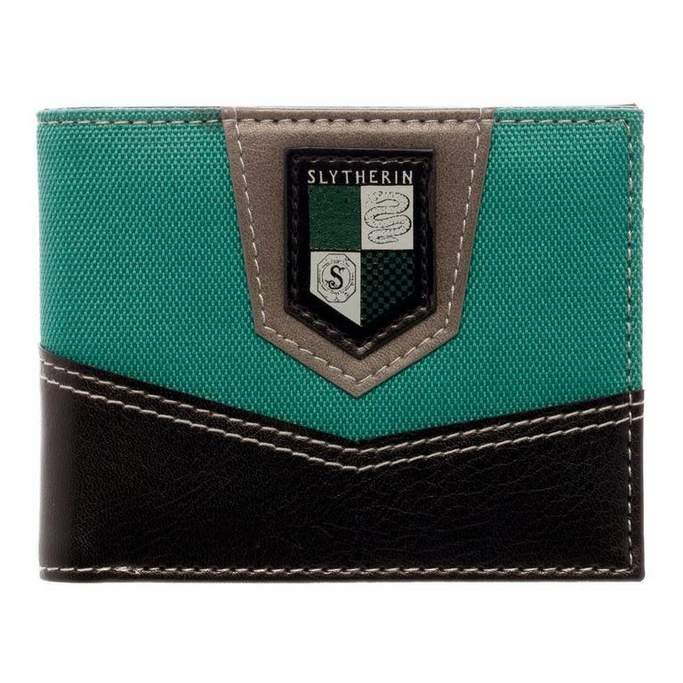 Harry Potter Slytherin Patch Mens Wallet
