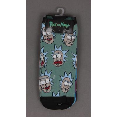 Rick and Morty Rick Heads Socks