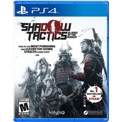 Shadow Tactics Blades of the Shogun | PlayStation 4 | GameStop