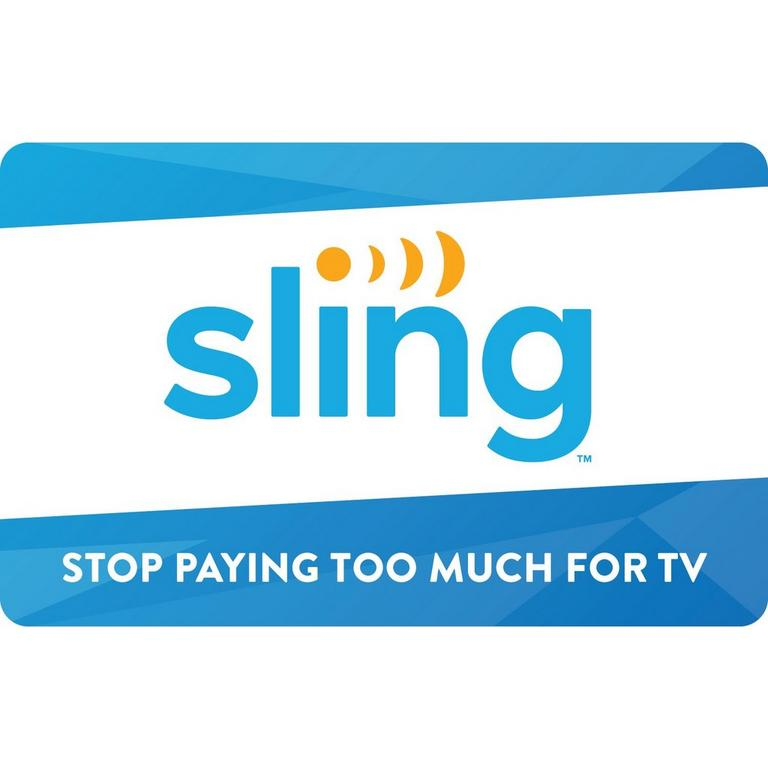 InComm Digital Sling TV $25 eCard Download Now At GameStop.com!