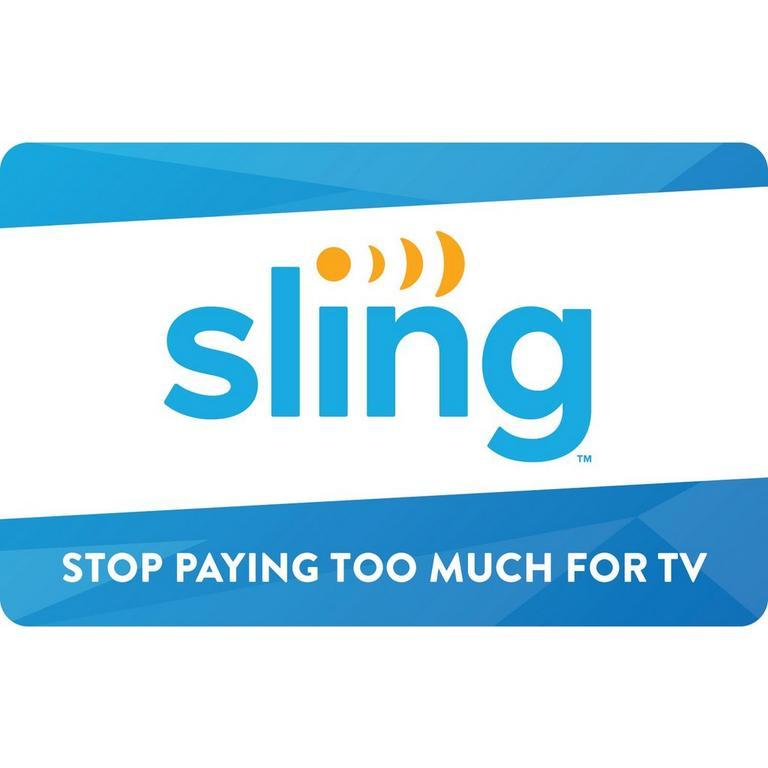 InComm Digital Sling TV $25 eCard Download Now At GameStop.com!