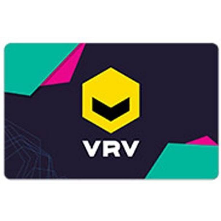 InComm Digital VRV $25 eCard Download Now At GameStop.com!